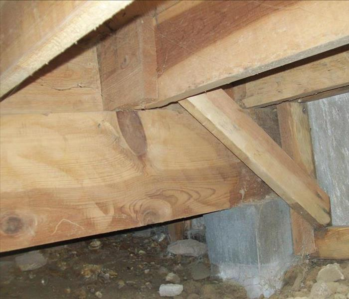 Crawlspace Mold in Rio Rancho Home After