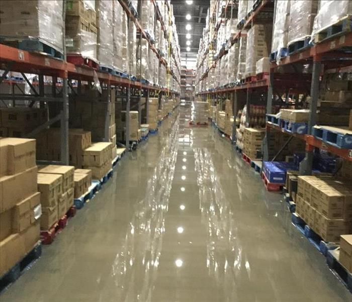 Commercial Water Damage Faster to any size Disaster