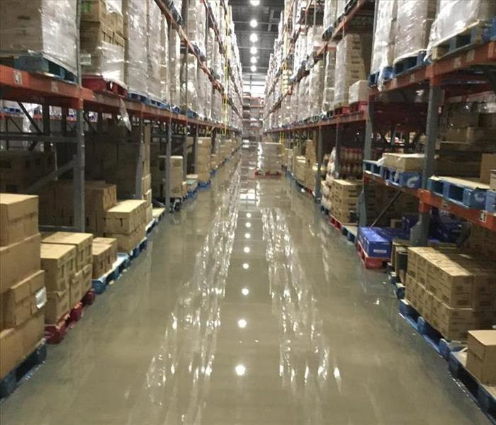 Commercial Your Rio Rancho Warehouse Commercial Water Damage
