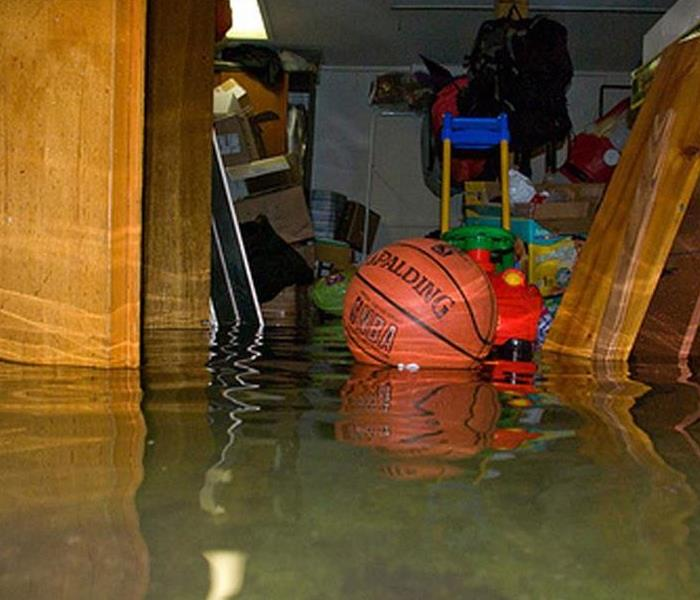 Water Damage Albuquerque, Rio Rancho and Santa Fe Residents: We Specialize in Flooded Basement Cleanup and Restoration!