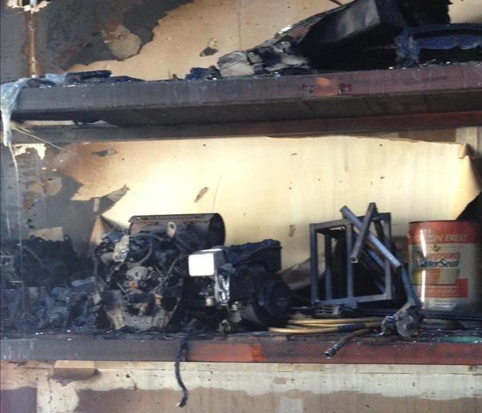 how to clean up soot after a fire